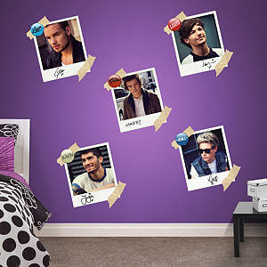 One Direction Snapshot Collection Fathead Wall Decal